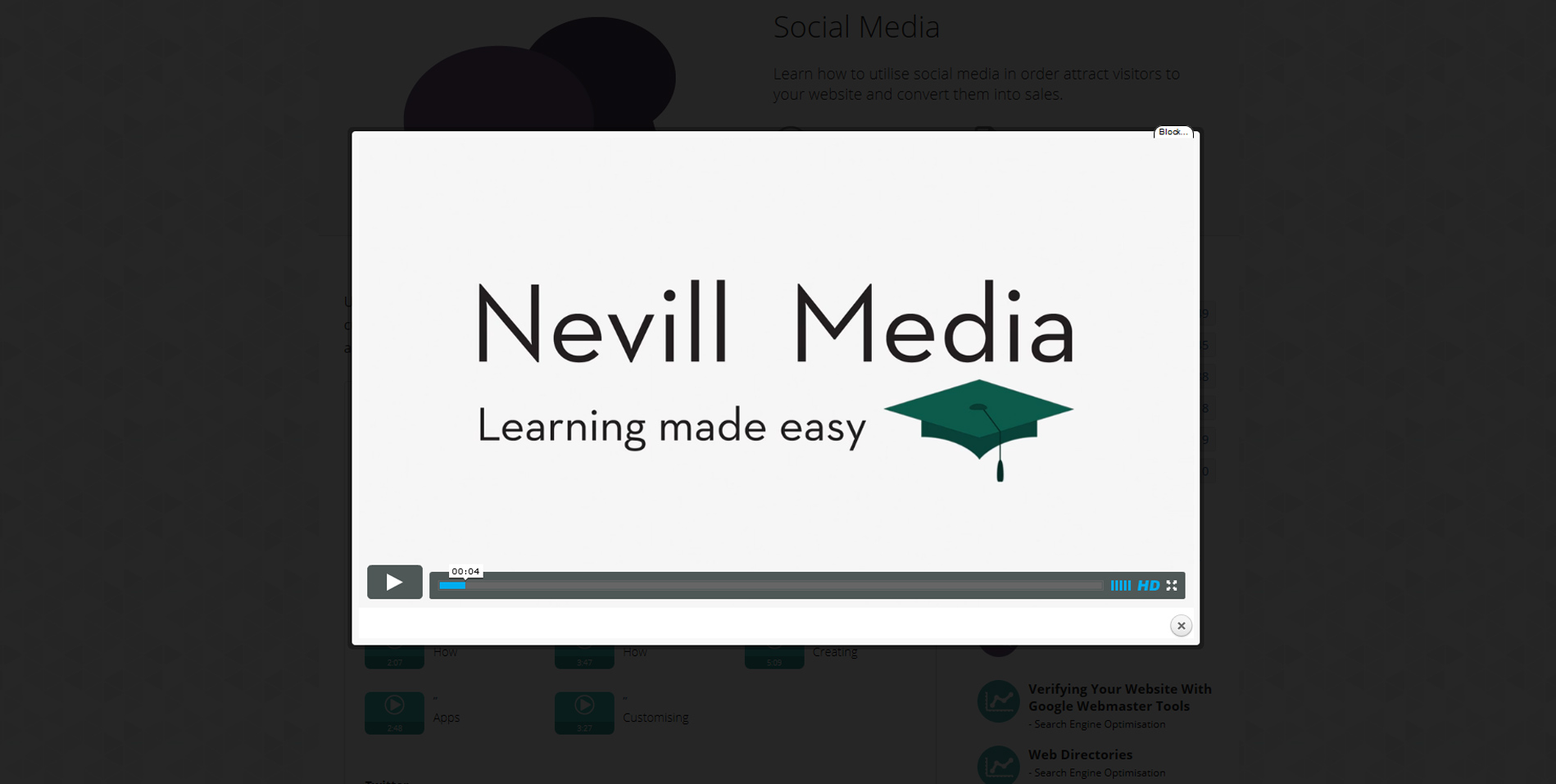 Nevill Media Video Tutorial