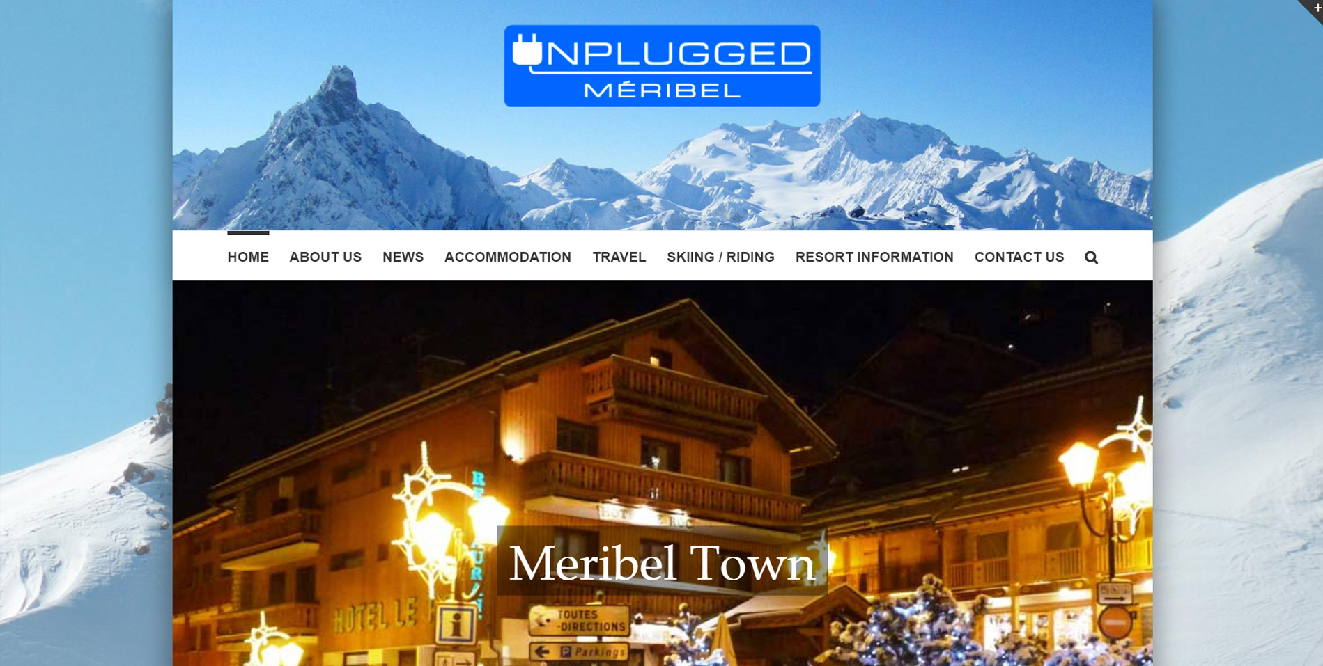 Meribel Homepage